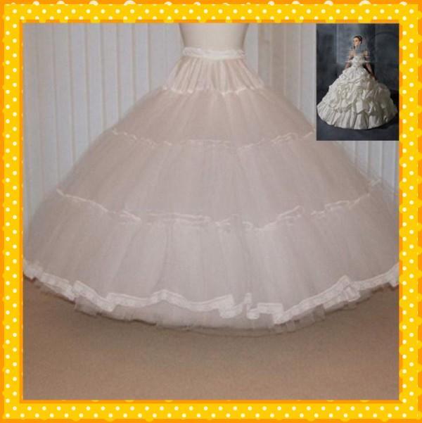 Как сделать пышные платья