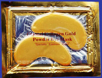 Wholesale 5000 Pack Hot Brand New Crystal Collagen Gold Powder Eye Mask Crystal Eye Mask