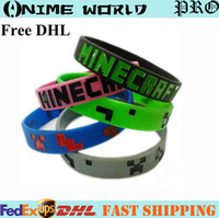 Wholesale Minecraft wristband Minecraft bracelet Good Quality in stock Same Day Shipping