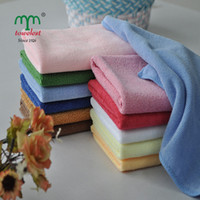 Wholesale free ship PC cm quot quot Microfiber Car Wash Cloth Cleaning Dishcloth x30CM Kitchen Towels Rags130004