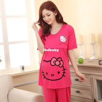 Wholesale 2014 New Maternity clothes sleeved summer month of lactation nurse Nursing Wear pajamas to go out of fashion shirt