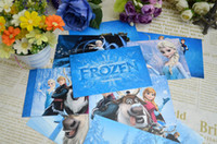 cartoon cards - Retail Anime Cartoon Frozen Fashion postcards Bookmarks Christmas Card Greeting Card set Postcard Gift Baby toys