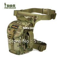 Wholesale Outdoor motor leg tactical sports free soldier waist bag pack for men travelling hunting