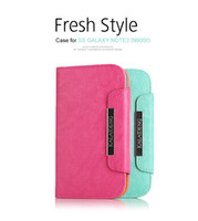 For Samsung TPU Yes [Supernova sale] KALAIDENG fresh Cover Case for Samsung Galaxy note3 N9000 mtk6589t Korean wave wallet Flip PU leather case