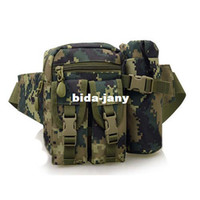 Unisex military equipment - multi functional swat sport tactical bag pouch military equipment army canvas waist bag outdoor camping hiking pack