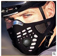 bicycle riding gear - Hot sport and outdoor cycling protective Gear face mask bike bicycle riding face mask windproof ski snowboard gard removable insert wft001
