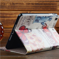 new arrival 50pcs Retro World Scenic PU Leather Tablet Case ...