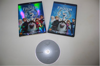 Home No DVD DHL Free Shipping 360pcs Cartoon Movie Frozen Best Animated movie of the year 1:1 DVD