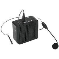 Wholesale 10 Sets ortable Square Feet W Voice Amplifier With Microphone Loud speaker For Costumes Props MP3 Player Teachers Professors Coache