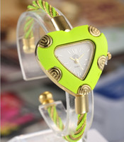 Wholesale The new personality watches love shape watches women s watch