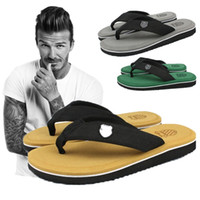 Wholesale New Summer Men Casual Flat Sandals Bakham Leisure Beach Flip Flops Men EVA Massage Beach Slipper Men Size