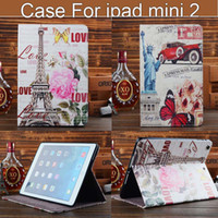 wholesale 120pcs Retro World Scenic PU Leather Tablet Case +...