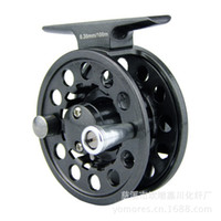 Wholesale Fishing Reels Bearing Full Metal Rafting Fly Reel Rod Ice fishing tackle LY50