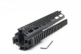 Wholesale SKS Tactical Hunting Quad rail inch Forearm System Tactical Handguard w Rail