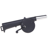 Wholesale Outdoor Camping BBQ Fan Air Blower Hand Crank Powered for Picnic Barbecue Fire