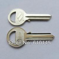 Wholesale CS3 blank key for house door key left groove door key house key brass key