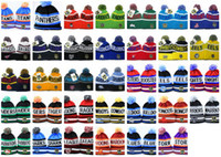 australia offers - New NRL Team Beanies Caps Sports Hats Types winter knitted hats by EMS DHL to USA Canada Australia mix order album offered