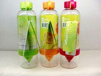 Wholesale 830ml NEW High Quality Lemon Bottle Cup Korea Citrus Zinger Juice Source Vitality Water Bottle Fruit Juicing Kettle