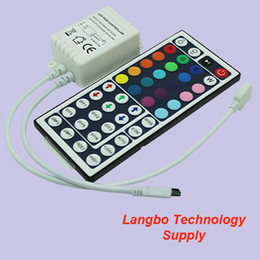 High Quality DC12V Input IR Remote RGB Controler 44 Key for RGB 5050 Type LED Strip Light, with Multi-function Lighting Change