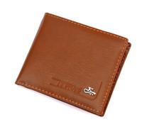 Wholesale Brand new Leather Wallet Cowboy Men Pockets Card Clutch Cente Bifold Purse PB2