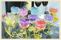 Wholesale packs New Magic Style Crystal Mud Soil Water Beads Flower Planting Plant Flower dandys