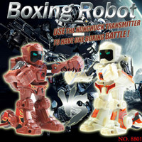 Wholesale cp8801 rc battle robot amp players PK Mode Remote Control RC VS Fighting Robot Battle Robot dandys