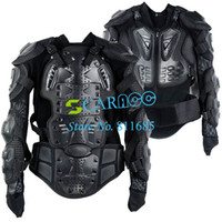Wholesale Black Motorcycle Full Body Armor Jacket Spine Chest Protection Gear Size S TK0495