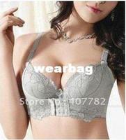 Bras Cotton Normal Free shipping 3pcs lot,Sexy push up bra size B,Gel Padded Massage Magic bra,Lady lace bra
