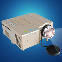 Wholesale Best quality P Portable Mini Full HD Perfect Computer Multimedia Projector Beamer SV001442 b007