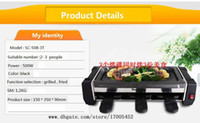 Wholesale Household electric barbecue grill SC T T T Mini barbecue grill plate machine BBQ Grills C061