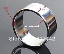 Wholesale Metal penis jewelry penis plug jewel metal cock ball head ring steel cock ring metal penis ring