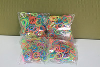 8-11 Years Multicolor Silicone 800sets rainbow Loom Rubber Bands - 300 pc Glow in The Dark Rubber Band 100% Bracelet