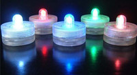 Wholesale Fedex flameless candle light led tea light candle waterproof candle battery operated candle