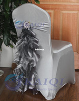 Cheap Wedding chair sashes for weddings Best Satin Fabric Yes chair ties for weddings