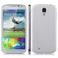 Wholesale TengDa S5 I9600 Dual Core Android MTK6572W Smart Cell Phone Single Cards Dual Camera G Unlocked Dropship