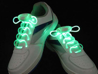 Wholesale Fedex Lighting Flash Light Up Sports Skating LED Shoelaces Shoe Laces Shoestrings K07542