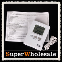Wholesale Wireless Digital EGG Incubator THERMOMETER Hygrometer Bulit in Sensor