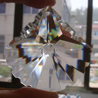 crystal prism - mm crystal for decoration crystal chandelier parts pendant crystal french Leaf prism pendant