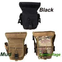 Wholesale CP Camouflage Drop Leg Bag Motorcycle Outdoor Bike Cycling Thigh Pack Waist Belt Tactical Bag Multi purpose Travel Bag