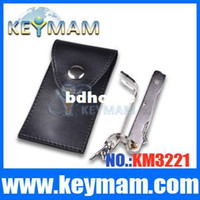 Wholesale Good Sale GOSO Auto Car Flip Lock Pick Folding Knife and Car Door Open Locksmith Tools