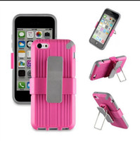 Hybrid PlasticTpu Belt Clip Holster Case For Iphone 5 5S