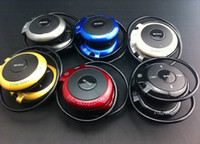 Wholesale S5 wearing super sound quality wireless headphones sport MP3 with FM mp3 card mp3 treadmill