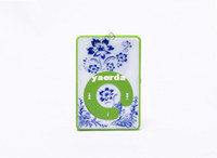 Wholesale Pure quality MP3 clip MP3 card with blue and white porcelain MP3