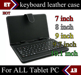 SGpost best price general Leather keyboard Case for 7,8,9,9.7,10,10.1,10.2 tablet pc MID A20 A13 A23 Q88 8880 8850 TB8