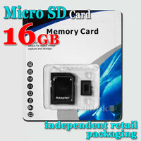 Wholesale pes GB Class10 Memory SD Card TF Card Mobile phone card Memory Card with Free Retail Blister Package DHL