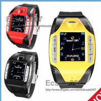 No Brand efit - Hot Selling F3 Sport Watch Phone Single sim MP3 MP4 Quad Band Bluetooth headset unlock efit mini cell Mobile