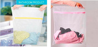 Wholesale 200 x40CM Clothes Wash Aid Laundry Washing Saver Lingerie Wash Home Washing Bag