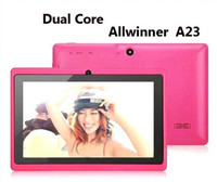 Wholesale Q8 Q88 Dual Core Dual camera inch tablet PC android Allwinner A23 MB GB colorful
