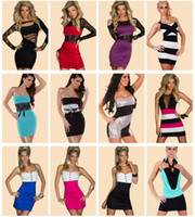 bodycon dresses - Newest Sexy Womens Stretchy Bodycon Party Dresses Fashion Cocktail Dresses Party Clubwear Prom Gorgeous Sheath Doll Bodycon Dress