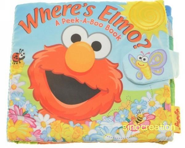 Boo Where Where is Elmo a Peek a Boo